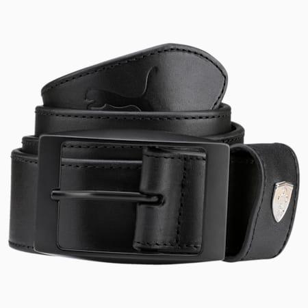 Ferrari LS Leather Belt, Puma Black, small-IND