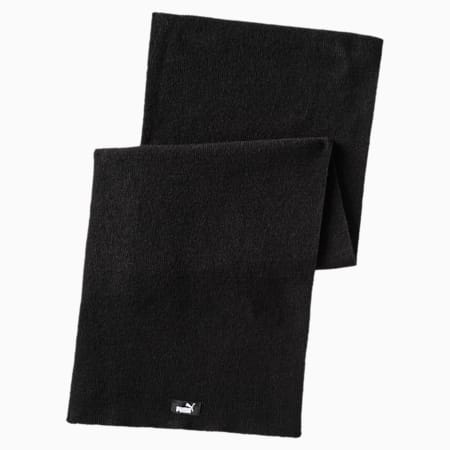 Écharpe en tricot, Puma Black, small