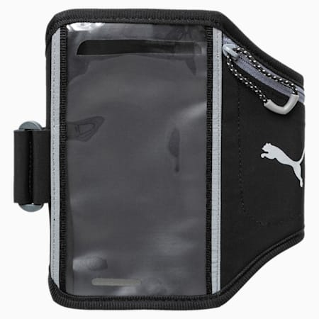 Running Phone Armband, Puma Black-QUIET SHADE, small-IND