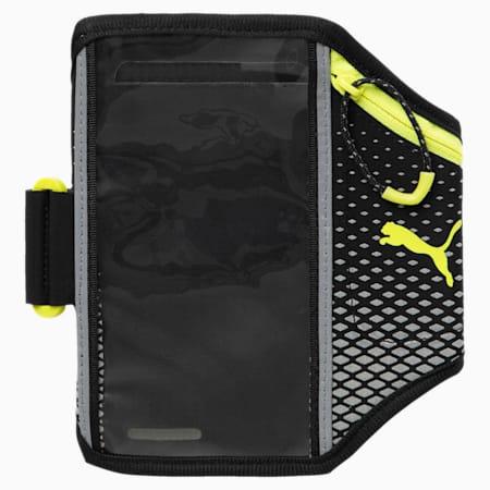 Running Phone Armband, Black-nrgy yellow-nightcat, small-IND