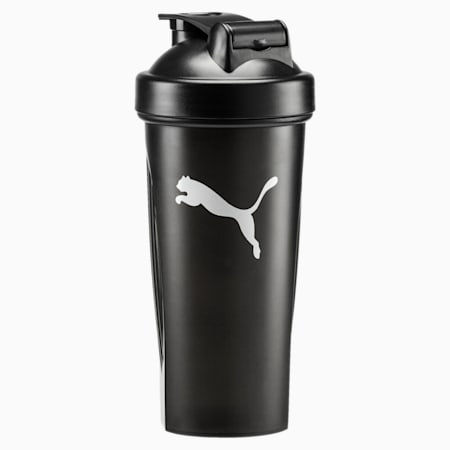 Shaker Bottle, Puma Black-Puma White, small-IND