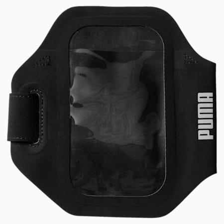PR Sport Phone Armband, Puma Black-Puma Silver, small-IND