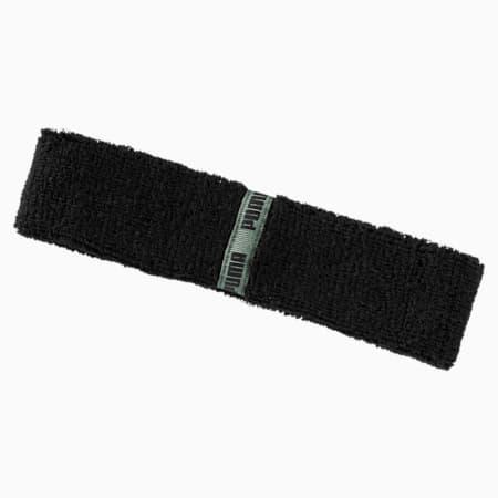 Training Essentials Classic Headband, Puma Black-Laurel Wreath, small-IND