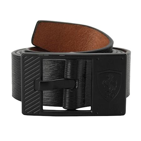 SF LS Leather Belt, Puma Black, small-IND