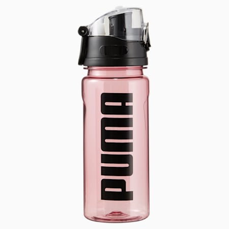 PUMA Training Water Bottle, Foxglove-Puma Black, small