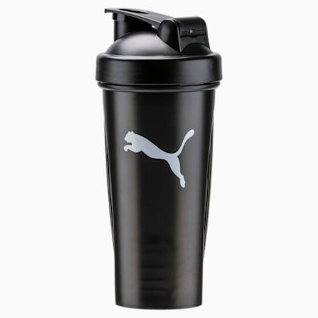 PUMA Shaker Unisex Training Water Bottle, Puma Black, small-IND