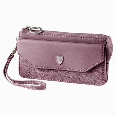 Ferrari Lifestyle Women's Wallet, Elderberry, small-IND