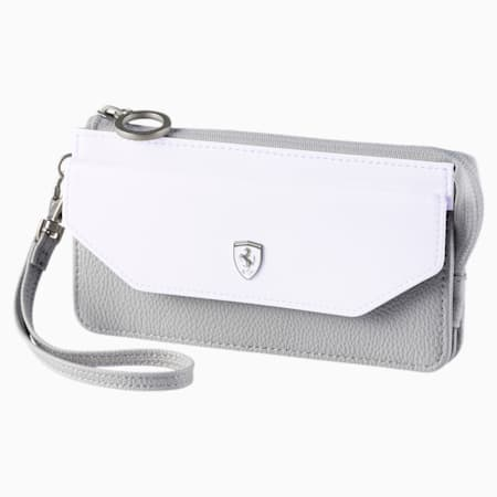Ferrari Lifestyle Women's Wallet, Puma White-Gray Violet, small-IND
