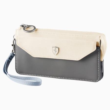 Scuderia Ferrari Lifestyle Wallet, Whisper White-Gray Violet, small