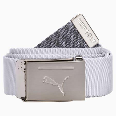 PUMA GOLF Reversible Belt, Bright White, small