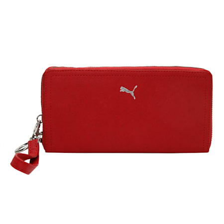 Womens Wallet- IN, Puma Red, small-IND