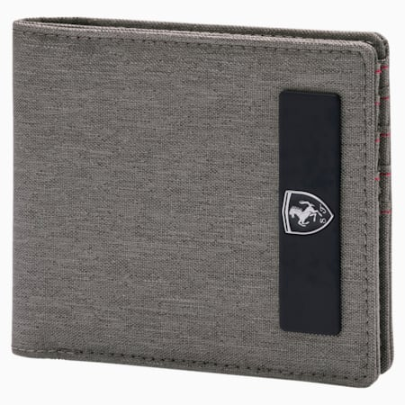 Scuderia Ferrari Lifestyle Wallet, Charcoal Gray, small