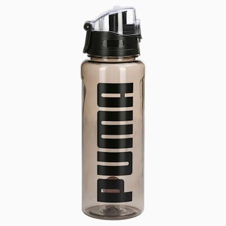 Botella de agua para entrenamiento de 1 litros, Puma Black, pequeño