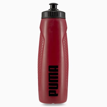 PUMA Training Unisex 750ml Water Bottle, Intense Red, small-IND