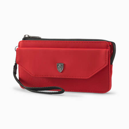 Scuderia Ferrari Lifestyle Women's Wallet, Rosso Corsa, small-SEA