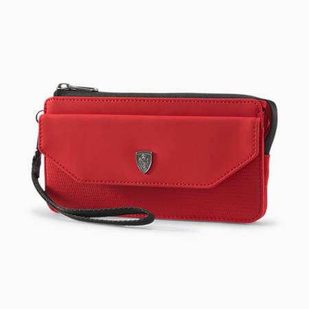 Scuderia Ferrari Lifestyle Women's Wallet, Rosso Corsa, small-IND