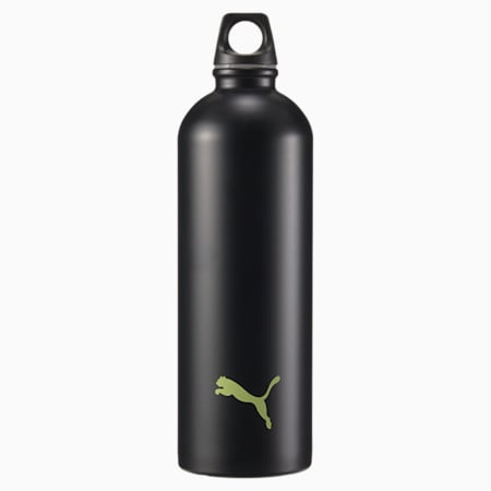 PUMA Training Stainless Steel Unisex Water Bottle, SOFT FLUO YELLOW, small-IND