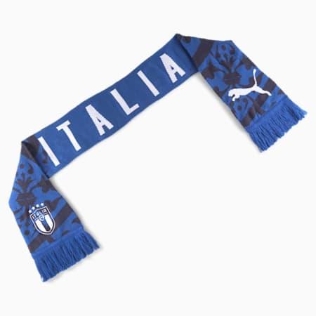 Italia Football Cullture Schal, Team Power Blue-Peacoat, small