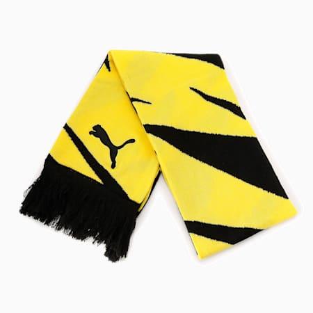 ドルトムント BVB ファン スカーフ, Puma Black-Cyber Yellow, small-JPN