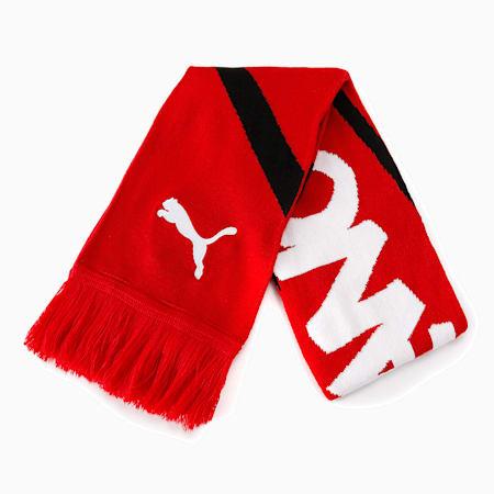ACミラン ACM FTBL CULTURE ファン スカーフ, Tango Red -Puma Black, small-JPN