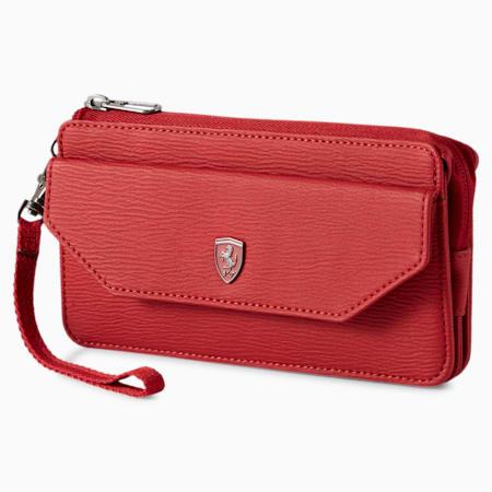 Scuderia Ferrari Style Women's Wallet, Red Dahlia, small-IND