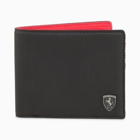 Scuderia Ferrari Style Men's Wallet, Puma Black, small