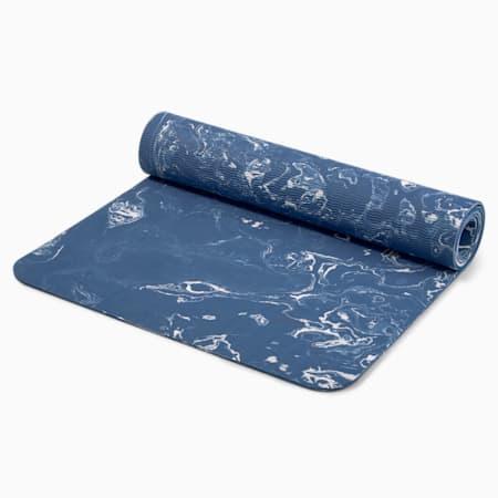 Premium Studio Women's Training Mat, Ensign Blue-cloud dye, small-GBR