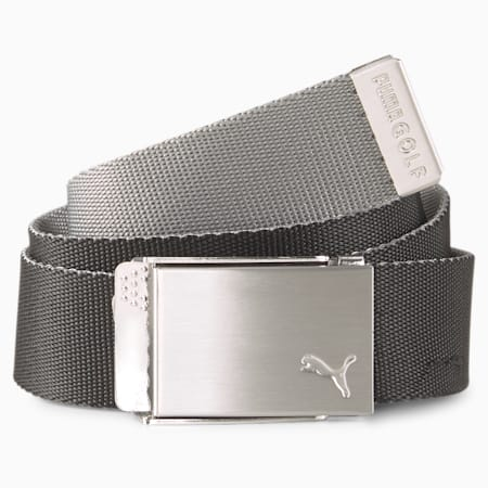 Herren Golfgürtel mit Gurtband im Wende-Design, Puma Black, small