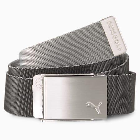 Reversible Webbing Men's Golf Belt, Puma Black, small