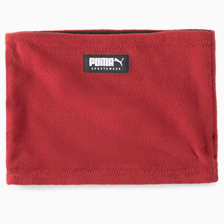 Reversible Neck Warmer, Intense Red-Puma Black, small-GBR