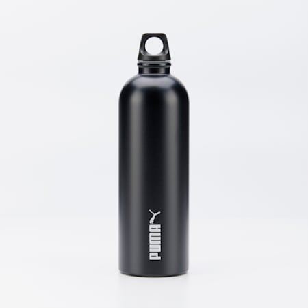 PUMA Training Stainless Steel Bottle No.2, Puma Black, small-SEA