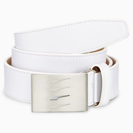 X Leather CTL 골프 벨트/X Leather CTL Belt, Bright White, small-KOR