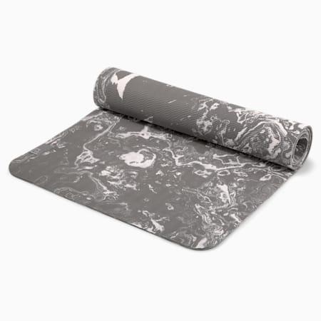 PUMA x GOOP Women's Yoga Mat, Puma Black-Charcoal Gray-Grape Leaf, small-IND