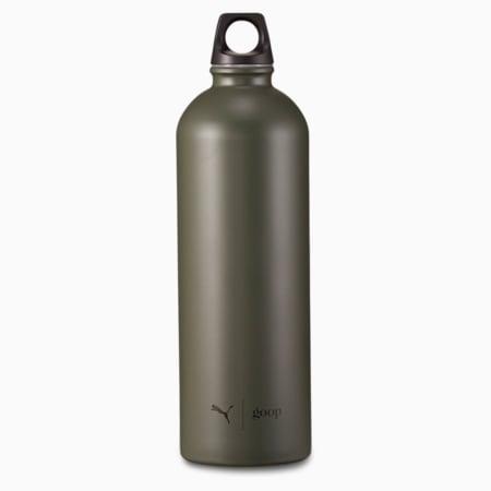 PUMA x GOOP Stainless Steel Unisex 750ml Water Bottle, Grape Leaf, small-IND