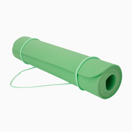 PUMA Anti-Slip Reversible Women's Yoga Mat, Elektro Green, small-IND