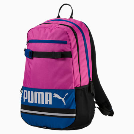 PUMA Deck Backpack, Rose Violet-TRUE BLUE, small-IND