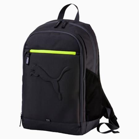 PUMA Buzz Reflective Unisex Durabase Backpack, Asphalt, small-IND