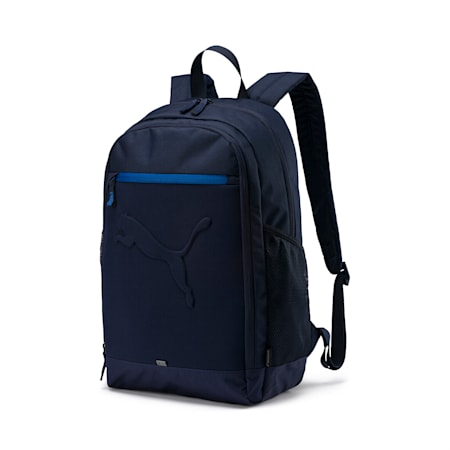 Buzz Reflective Durabase Backpack, Peacoat, small-IND