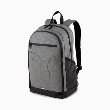 Buzz Backpack, Medium Gray Heather, small