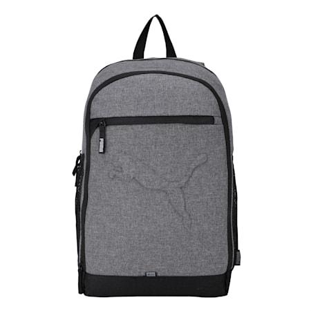 PUMA Buzz Reflective Unisex Durabase Backpack, Medium Gray Heather, small-IND