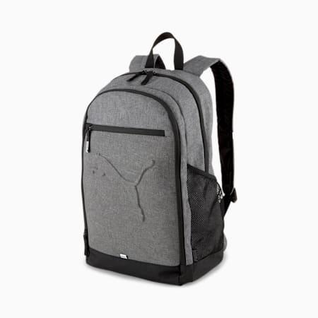 Buzz Backpack, Medium Gray Heather, small