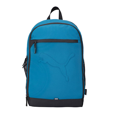 Buzz Reflective Durabase Backpack, Digi-blue, small-IND