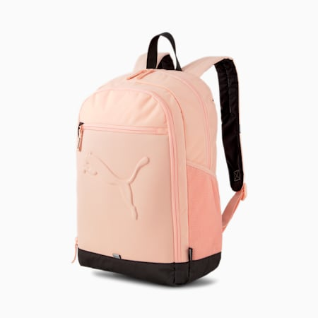 Buzz Reflective Durabase Backpack, Apricot Blush, small-IND