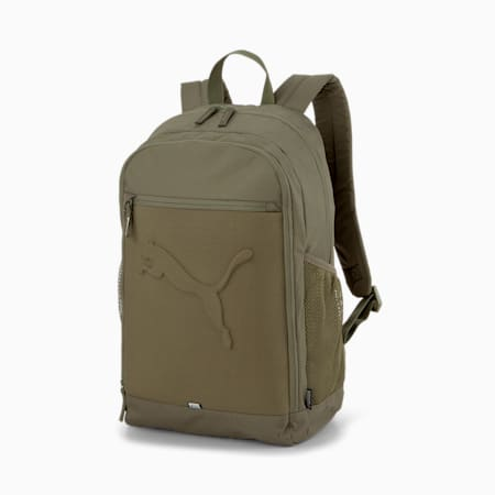 PUMA Buzz Reflective Unisex Durabase Backpack, Grape Leaf, small-IND