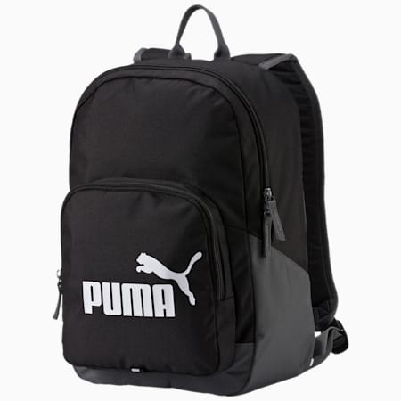 PUMA Phase Backpack, black, small-IND