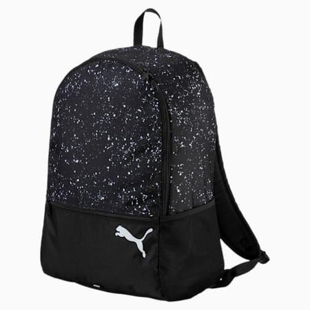 Alpha Backpack, Puma Black-speckle, small-SEA