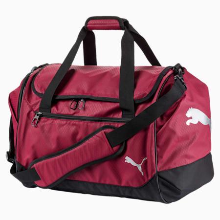 Training Medium Sports Bag, Pomegranate-Puma Black, small-IND