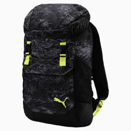 Plecak Training Daily, Puma Black-Yellow-graphic, small