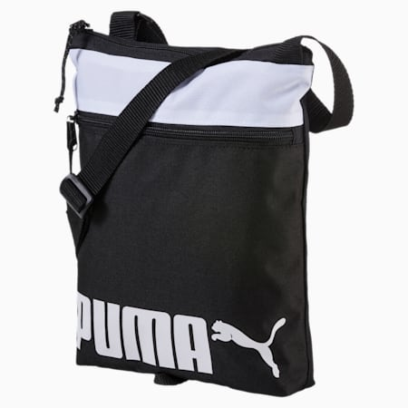 Sole Portable Bag, Puma Black-Puma White, small-SEA