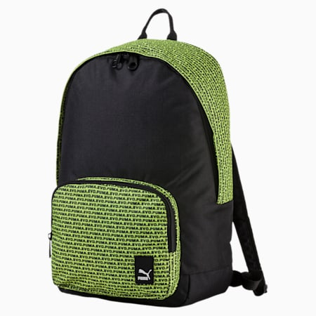 Prime Backpack, Puma Black-Evo graphic, small-IND